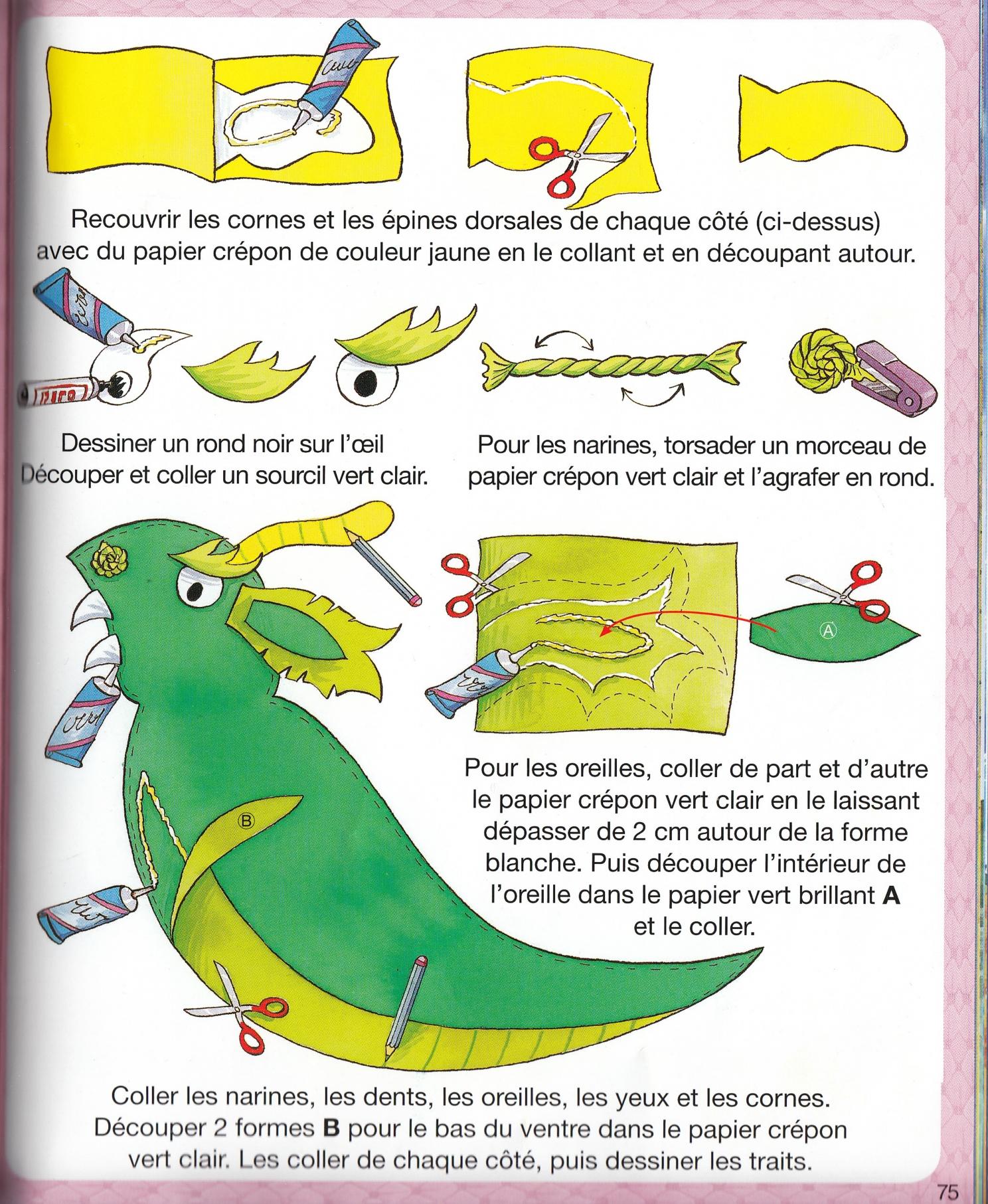 Exceptionnel Déguisement de dragon (fille ou garçon) pour le carnaval (à faire  YX23