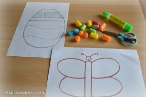 DIY Paques bricolage Playmais
