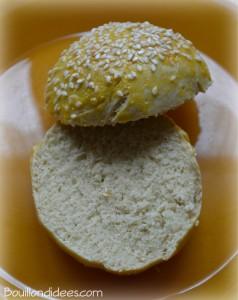 Pain hamburger sans gluten sans GLO Bouillondidees