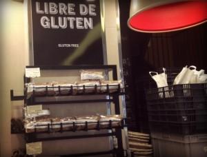 Pain sans gluten chez le boulanger Eric Kayser
