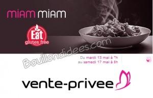 Venteprivée Eat gluten free Bouillondidees