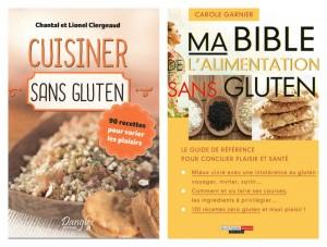 deux nouveaux livres recettes sans gluten