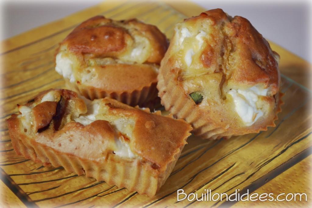 Cake Au Chevre Frais Et Courgettes