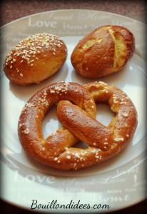 Bretzels et mauricettes sans gluten  Bouillondidees