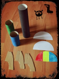 Fusées avec rouleaux papier toilette et sopalin Matériel Bouillondidees