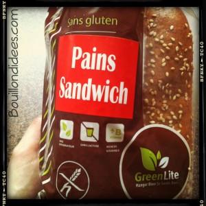 La maison du sans gluten Pain à sandwich Bouillondidees