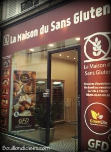 La maison du sans gluten boutique Paris  Bouillondidees