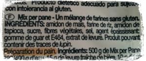 Pain sans gluten croustillant et moelleux farine Nutri free Mix Pan Bouillondidees