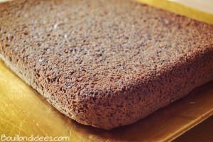 gateau chocolat sans GLO façon brownie Bouillondidees