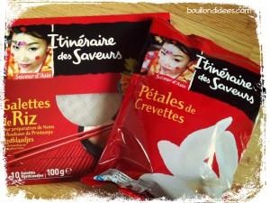 Magasin chips sans gluten, feuilles de riz, sans GLO, Intermarché Bouillondidees