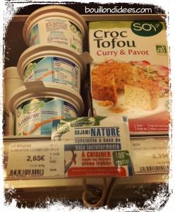 Magasin creme soja sojami sans gluten sans PLV  Bouillondidees