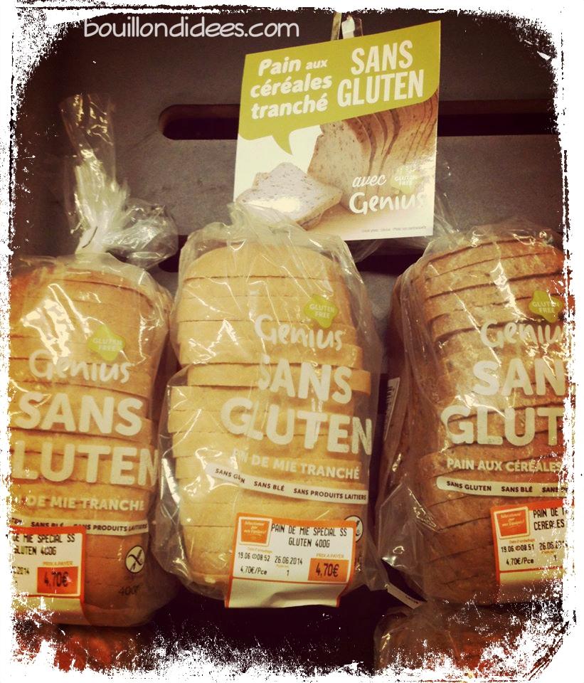 Sans Lactose Sans Gluten Sans Gluten et Sans Lait