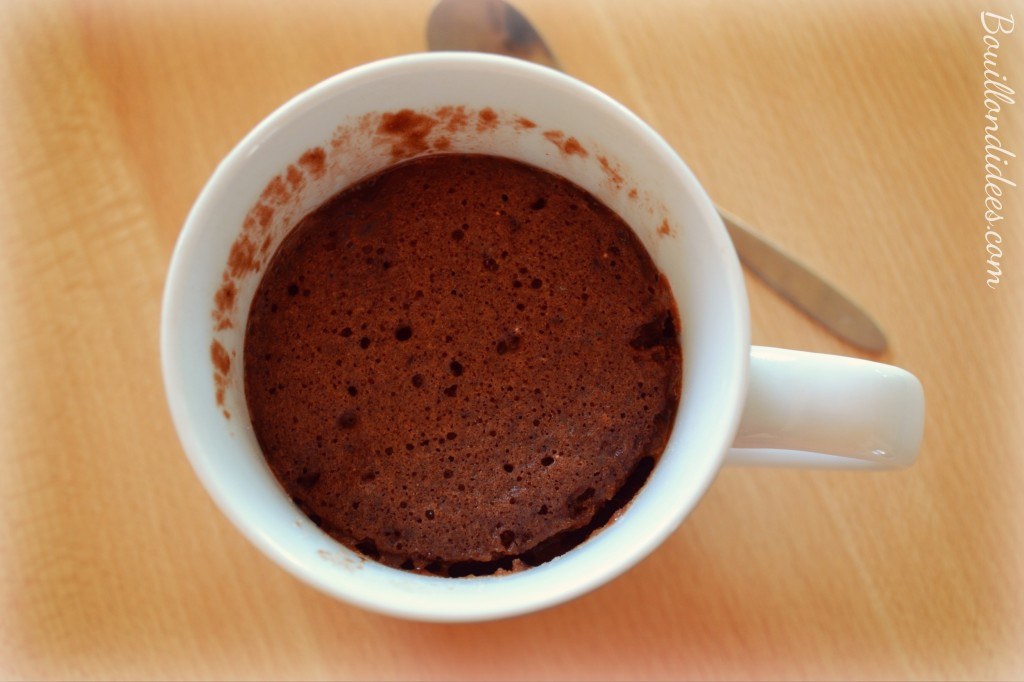 Mug Cake Au Chocolat Au Lait