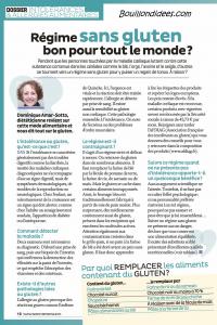 Santé Vie Pratique dossier intolérances alimentaires (gluten, lait, oeuf) 5 Bouillondidees