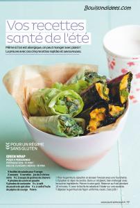 Santé Vie Pratique dossier intolérances alimentaires (gluten, lait, oeuf) recettes 1 Bouillondidees