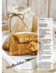 Avantages Hors Serie cuisine Sans gluten, sans Lactose & cie Recette crêpes sans gluten sans lactose Bouillondidees