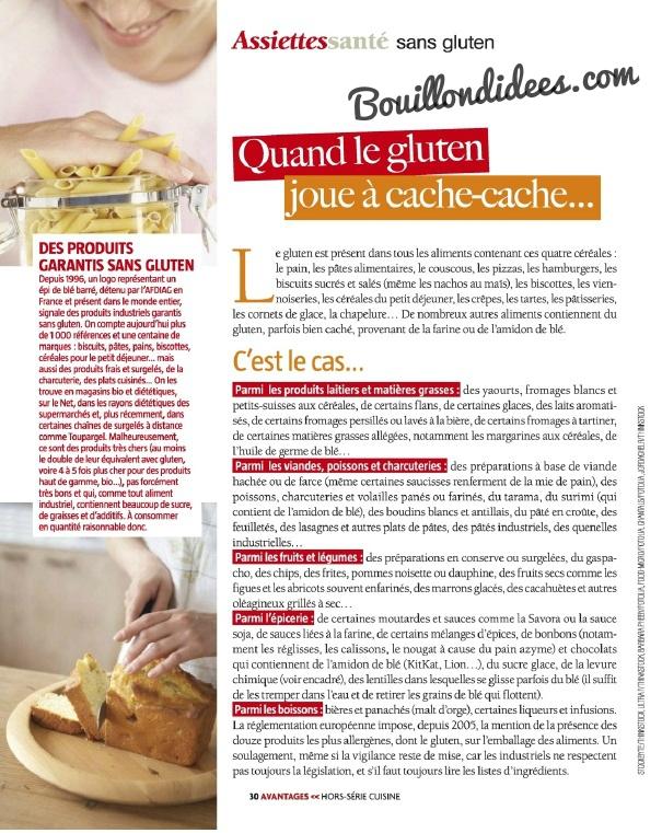 Avantages Hors Seriecuisine Sans gluten, sans Lactose & cie Produits sans gluten Bouillondidees.jpg