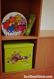 Boite rangement et jeu Playmobil caiser Bouillondidees