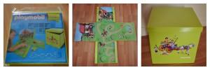 Boite rangement et jeu Playmobil panorama Bouillondidees