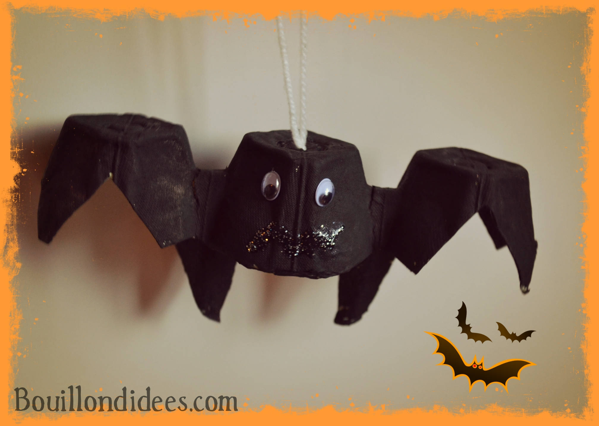 diy halloween la suite fant me chauve souris on. Black Bedroom Furniture Sets. Home Design Ideas