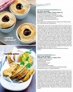 HS Elle à table sans gluten exemple recette salé Bouillondidees
