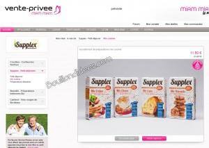 Vente privée produits Supplex Mix SANS GLUTEN   Bouillondidees