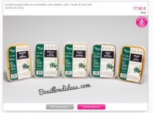 Venteprivée sans GLO Sanaé produits Bouillondidees