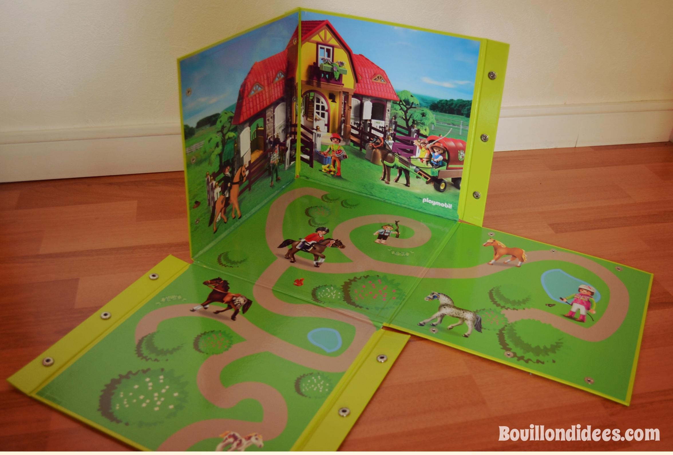 La solution pour jouer et surtout ranger les playmobils - Rangement pour playmobil ...