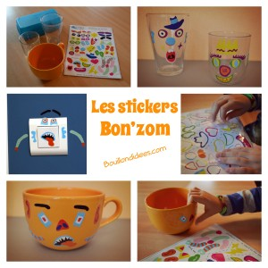 stickers Bon'zom C-MonEtiquette customiser gen Bouillondidees