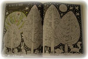 Avant Noël, activité de l'avent, cahier d'activités de Noël, Usborne coloriages Bouillondidees