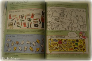 Avant Noël, activité de l'avent, cahier d'activités de Noël, Usborne jeux Bouillondidees