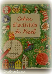 Avant Noël, activité de l'avent, cahier d'activités de Noël, Usborne une Bouillondidees