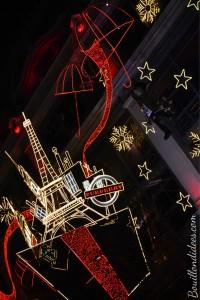 Avant Noël, idée de sortie enfants, illuminations vitrines grands magasins Printemps 2014 Bouillondidees