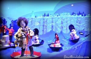 Avant Noël, idée de sortie enfants, vitrines grands magasin Printemps 21 2014 Bouillondidees