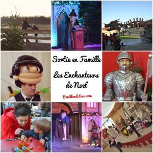 Spectacle Vincennes Noel les Enchanteurs de Noel Bouillondidees