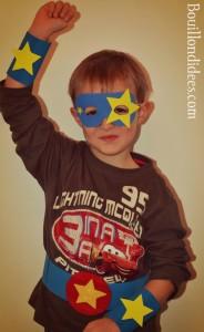DIY panoplie Super Heros loulou 1 Bouillondidees