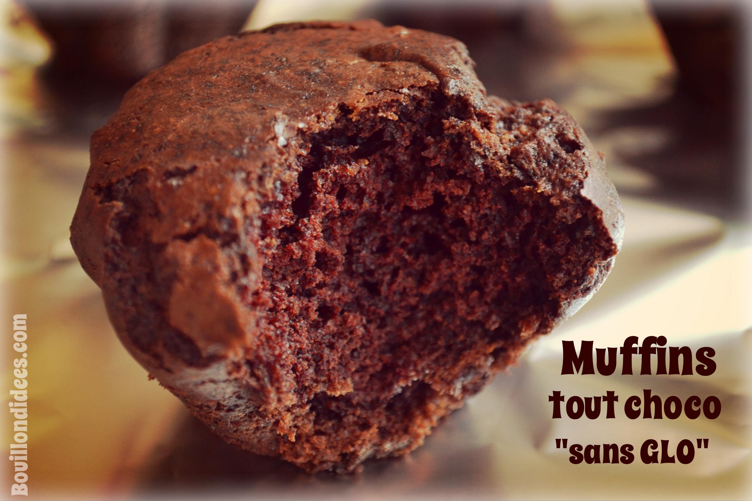 Des Muffins Tout Choco Moelleux Et Sans Glo Gluten Lait Oeuf