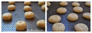 Baci di Dama (baisers des dames) biscuits noisettes amandes  sans GLO cuisson  Bouillondidees