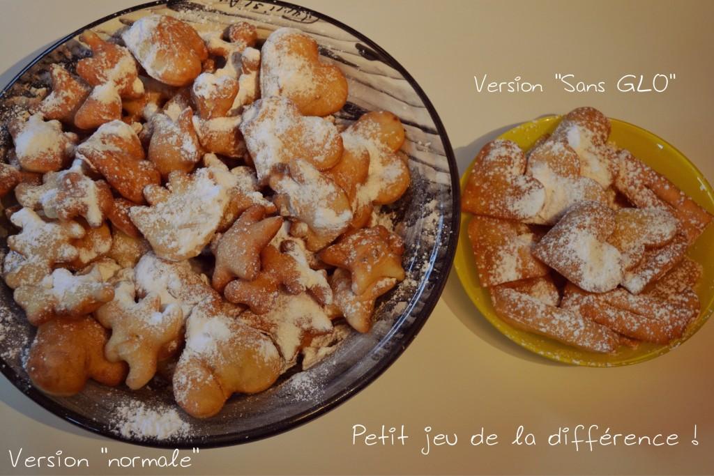 Bugnes sans GLO carnaval beignets sans GLO gluten lait oeuf comparaison Bouillondidees