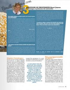 Cote santé sans gluten 2 Bouillondidees