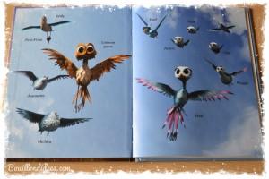 Livre GUS petit oiseau, grand voyage Nathan film d'animation (coin lecture) petit album 2 Bouillondidees