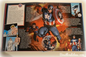 Livre Super Héros la Grande Imagerie Fleurus Avangers Captain America Bouillondidees