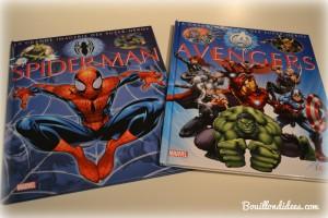 Livre Super Héros la Grande Imagerie Fleurus Avangers et Spiderman Bouillondidees