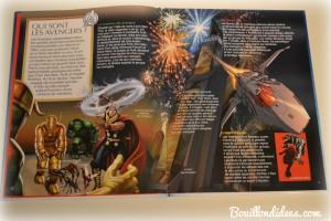 Livre Super Héros la Grande Imagerie Fleurus Avengers Bouillondidees
