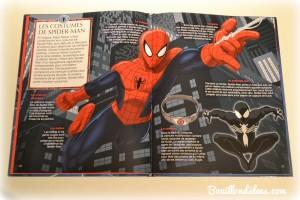 Livre Super Héros la Grande Imagerie Fleurus Spiderman costumesBouillondidees