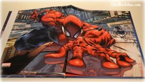 Livre Super Héros la Grande Imagerie Fleurus Spiderman poster Bouillondidees