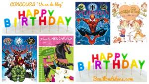Concours un an du blog livres enfants Creava et Fleurus