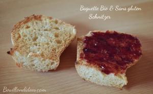 No gluten shop partenaire test baguette Schnitzer sans gluten Bouillondidees