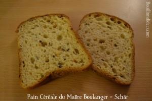 Test nouveautés Schär sans gluten Pain Céréale du Maître Boulanger  Bouillondidees