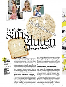 Vital Food magazine article sans gluten 2